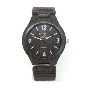 22940d9f08f Relogio Calvin Klein Pulseira De Couro - Relógios De Pulso no ...