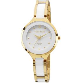 a9b069883c7b9 Relogio Technos Feminino Ceramica Branco - Relógios De Pulso no ...
