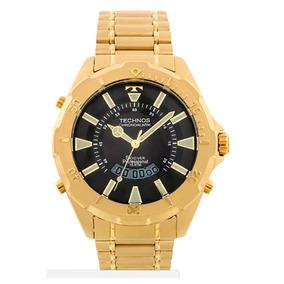 78f6d225e86da Relogio Technos Skydiver Dourado - Relógios no Mercado Livre Brasil