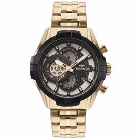 5af8aa792cfff Relógio Technos Masculino Skeleton Js15ew 4p ( Nota Fiscal) por Real Times
