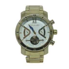 e15cbecd6b5 Relogio Bulgari Masculino Vidro Zafira - Relógios De Pulso no ...