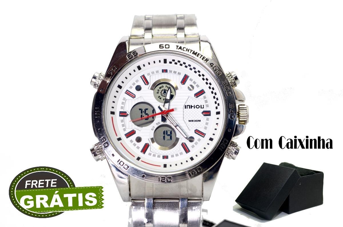 48c3c108aa6 Relógios De Pulso Masculino Analógico Digital Frete Grátis. - R  124 ...