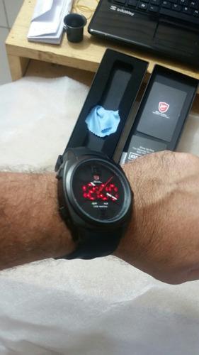 relógios shark borracha ds030l