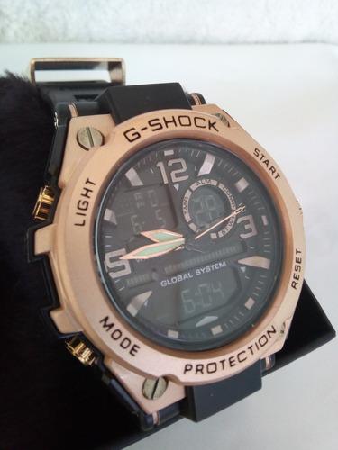 relógios  shock cabeça de aço+ caixa promoção.
