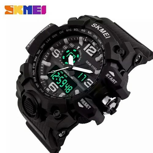 relógios skimei 1155 masculino original menor preço promoçao