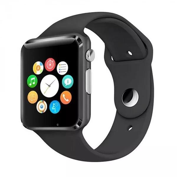 5cbec84dd64 Relógios Unisexs Bluetooth Smart Watch A1 Android Whatsapp - R  130 ...