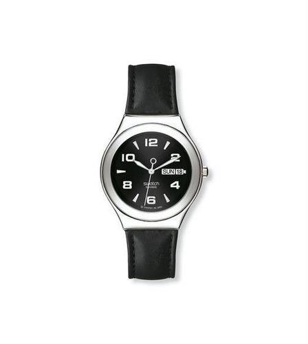 relóigo swatch feature steel ygs737