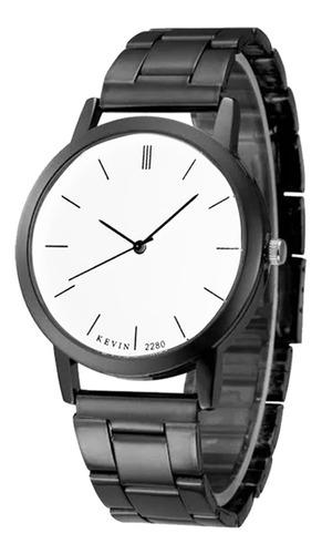 reloj 2280 metálico elegante de lujo casual