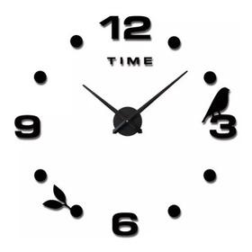 Reloj 3d Grande Hermoso Para Sala, Comedor, Cocina, Regalo