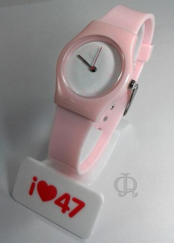 reloj 47 street cod799 silicona dia del niño promo!!