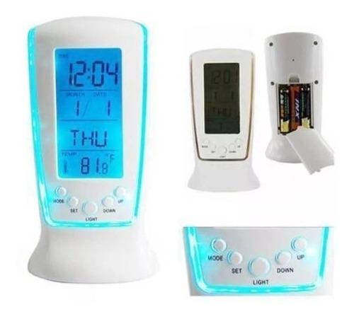 reloj 510 luz de fondo azul music led digital alarma oferta! *** full-time mania *** mercadolider platinum importadores!