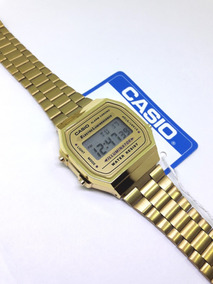 92df3d2c488a Casio Dorado A 168 Illuminator - Reloj de Pulsera en Mercado Libre México