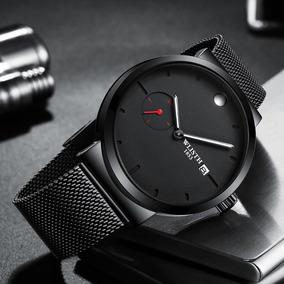 a1e5f8ed220f Reloj Caballero Contra El Agua Correa De Acero - Reloj de Pulsera en  Mercado Libre México