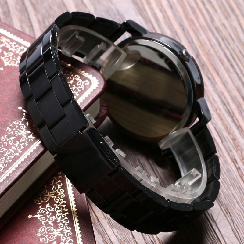 e6bde7008328 reloj acero negro marca kevin hombre moda caballero b152. Cargando zoom.