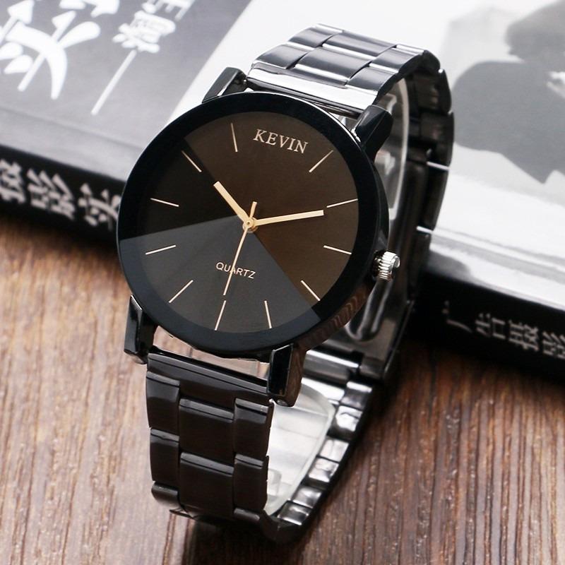ca3389394800 reloj acero negro marca kevin hombre moda caballero b152. Cargando zoom.