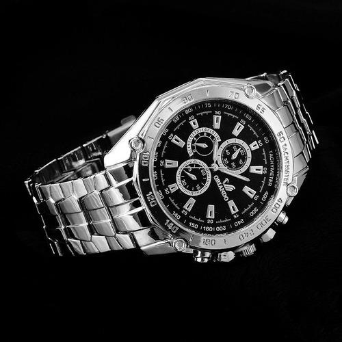 reloj acero para hombre orlando - detal y por mayor