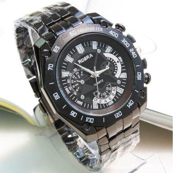 4c149196f96e Reloj Acero Para Hombre Rosra Black Tt- Detal Y Por Mayor -   23.800 en Mercado  Libre