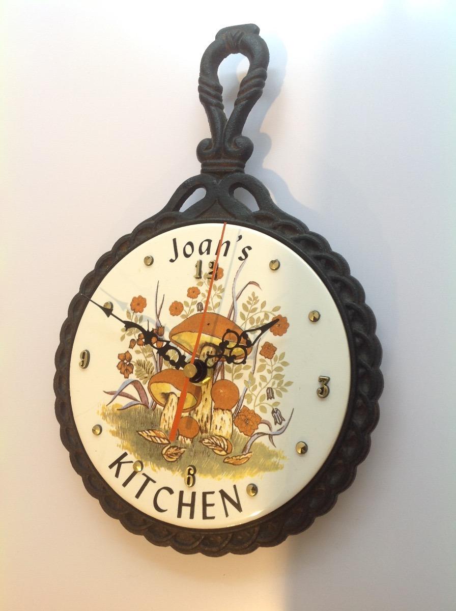 Reloj Adaptado A Antiguo Utensilio De Cocina. Cuarzo. Nuevo ...