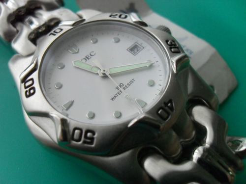 reloj adec by citizen 100 mtrs
