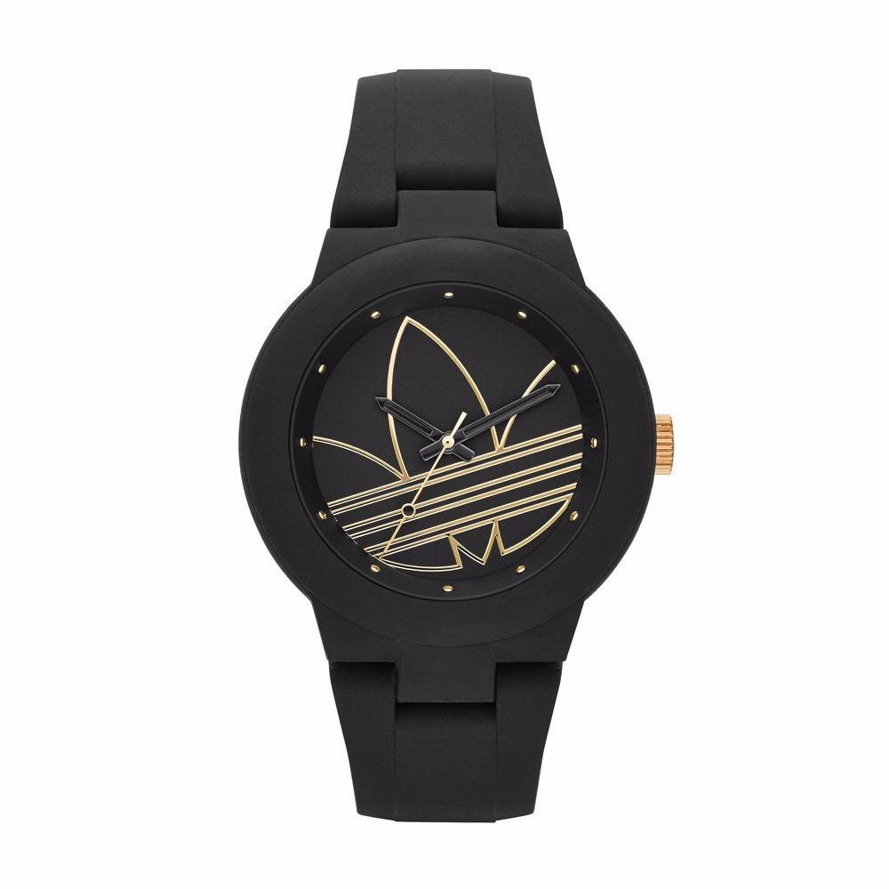 the latest 1244e 88ba0 reloj adidas aberdeen adh3013 negro dorado unisex original . Cargando zoom.