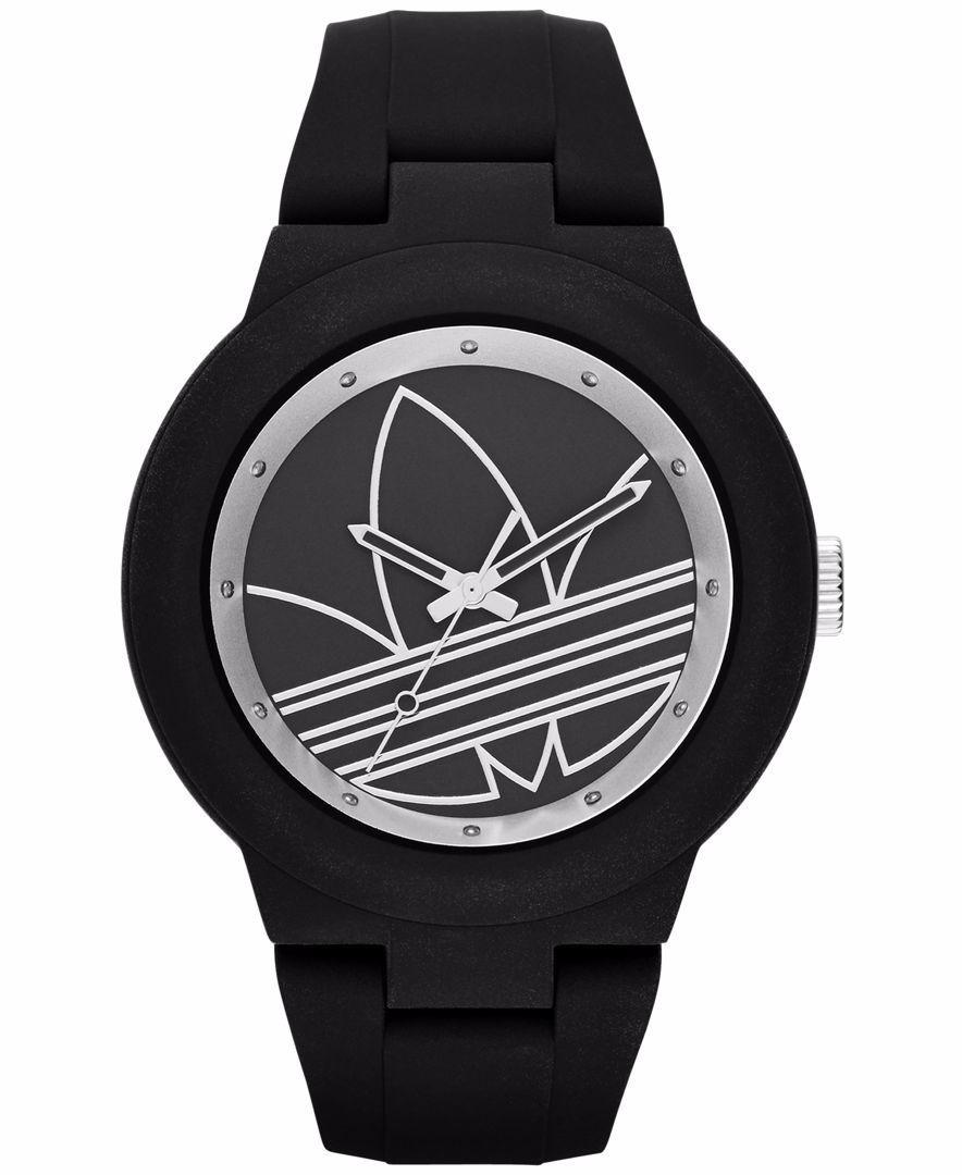 differently b0843 b215d reloj adidas aberdeen adh3048 negro plat unisex original . Cargando zoom.