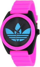 Adidas Dama México Mercado De En Para Reloj Rosa Mujer Libre v80mwONn