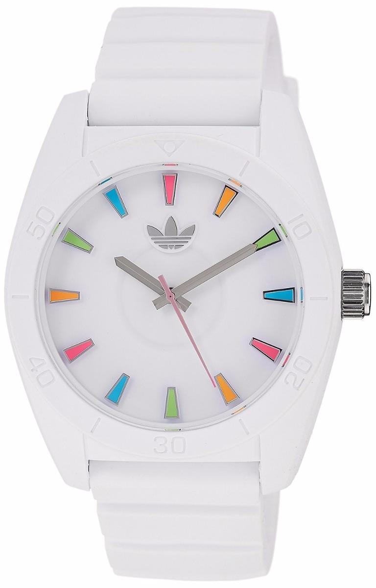 Reloj adidas Adh2915 Santiago Blanco Para Dama 100% Original