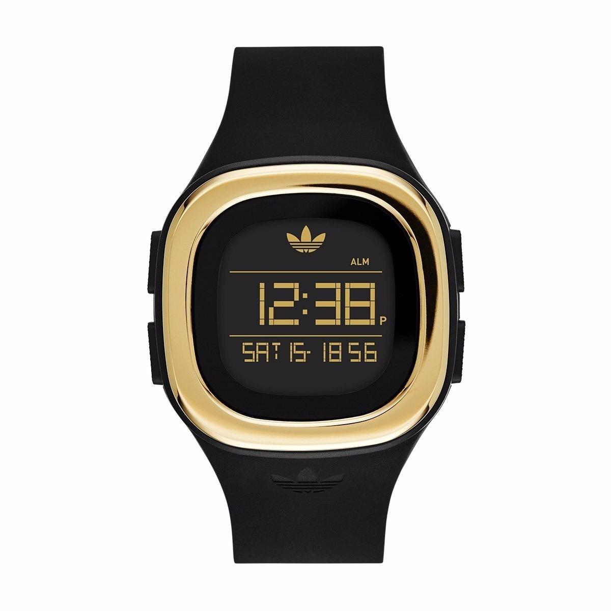 super popular 481f7 69d90 reloj adidas adh3031 denver negro dor unisex 100% original . Cargando zoom.