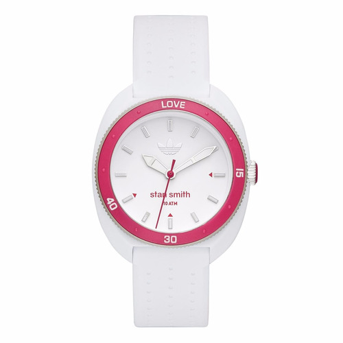 reloj adidas adh3188 stan smith blanco dama 100% original