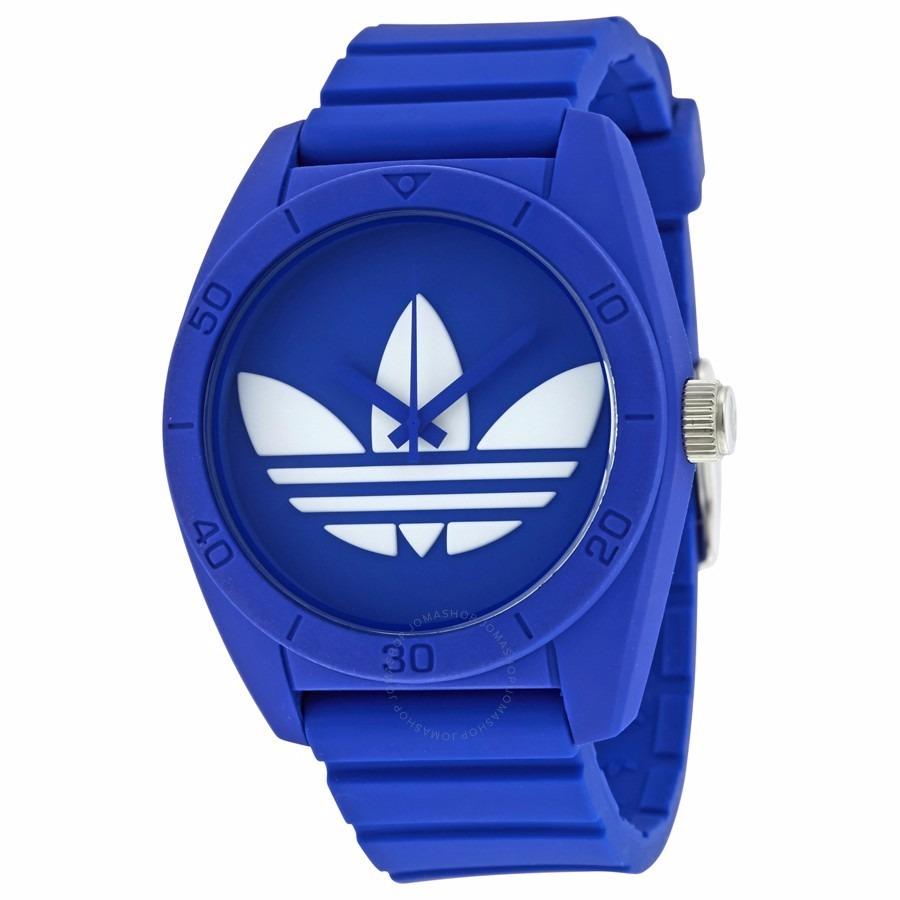 Vaca Hija colateral  reloj adidas azul claro