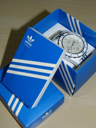 reloj adidas blanco