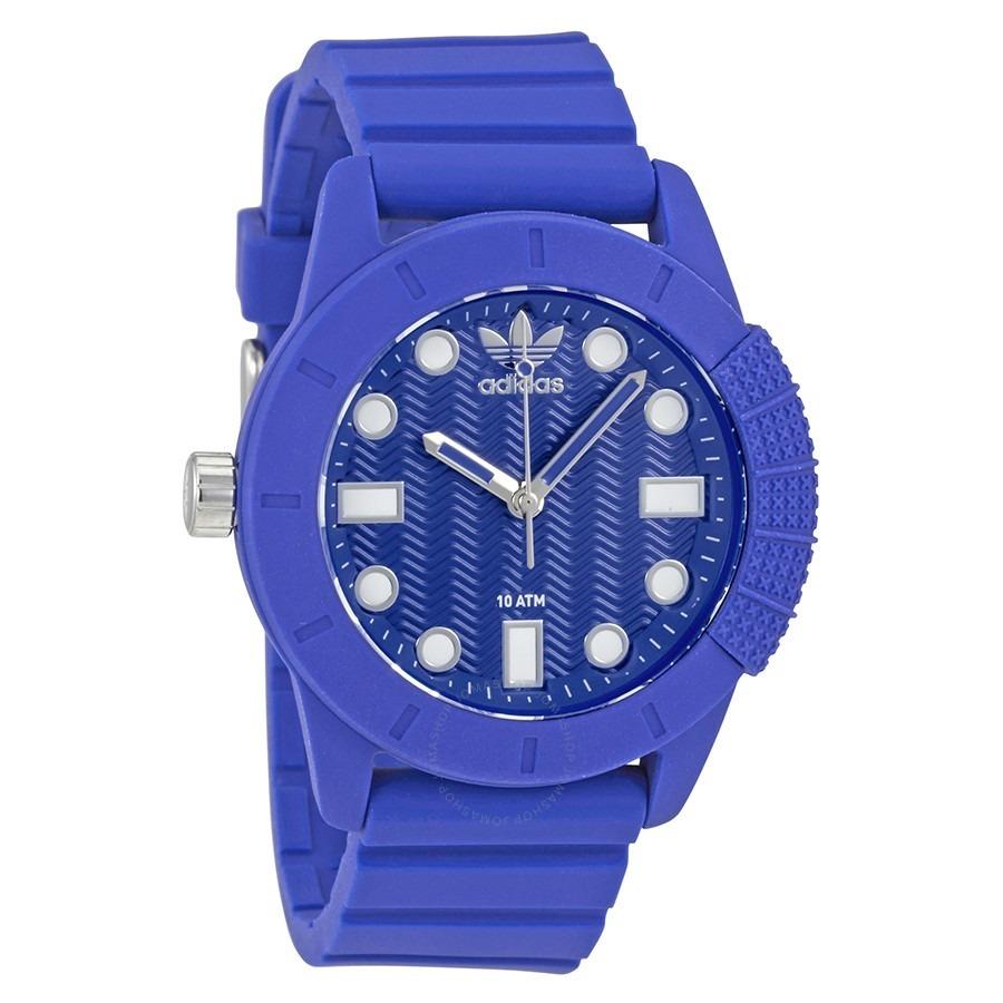 Reloj adidas De Hombre Adh 3103 Azul De Silicona Original