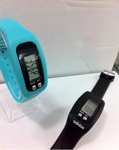 reloj adidas digital con contador de pasos podometro
