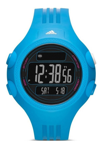 reloj adidas digital con crono sumergible adp6099