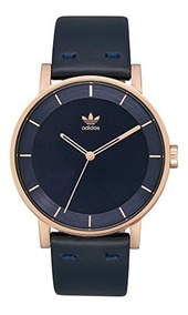 l1 Autentico Reloj Cuero Adidas District De Correa TK1JlFc3