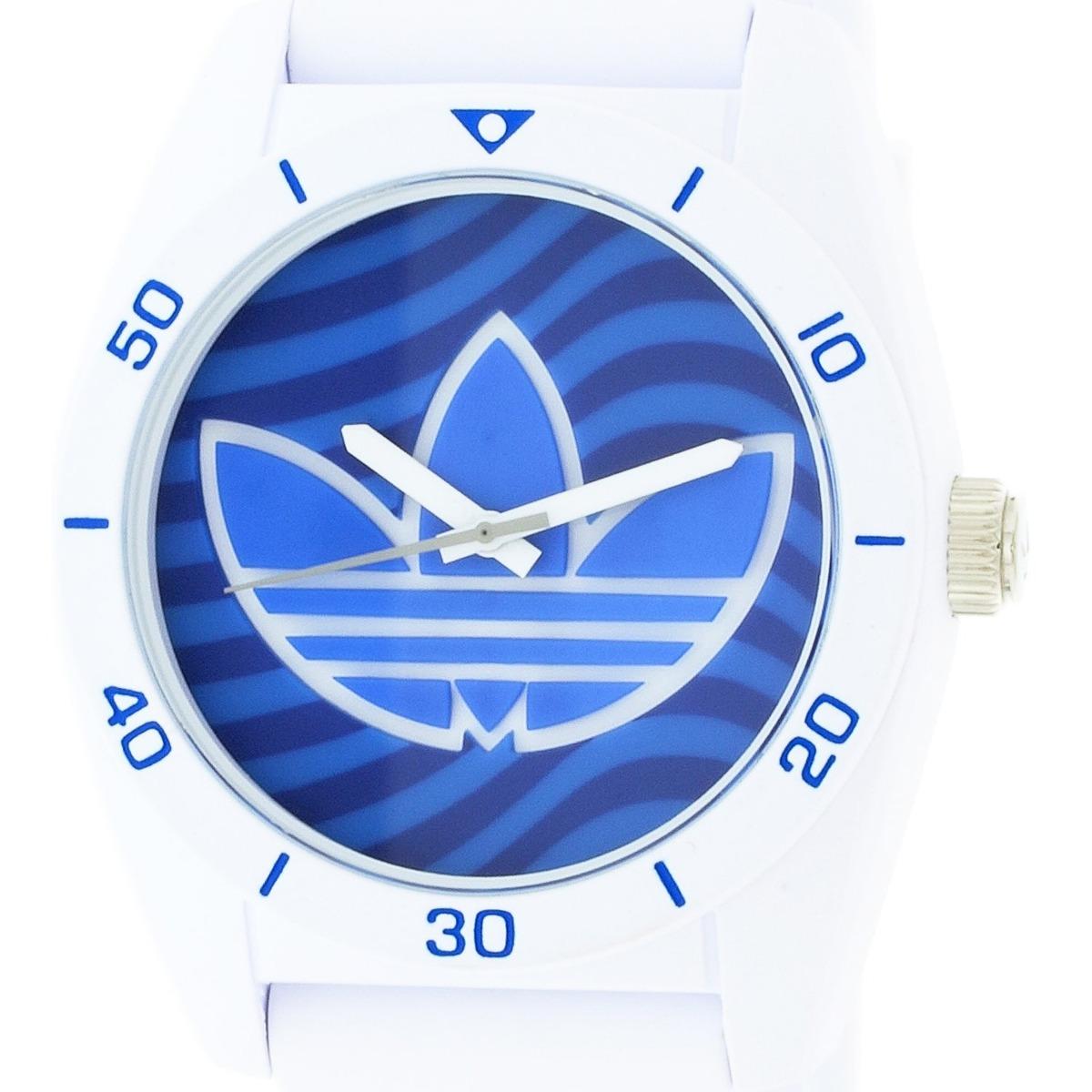 Reloj adidas Para Mujer Adh3195 Santiago Blanco Deportivo