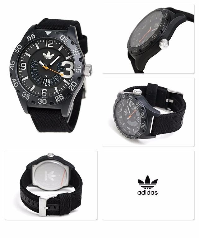 low priced 95962 04793 reloj adidas newburgh negro modelo  adh3157.