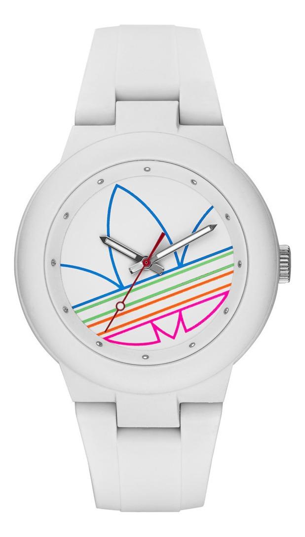 Reposición Dardos Sentimiento de culpa  Reloj adidas Silicone White Aberdeen - U$S 115,00 en Mercado Libre