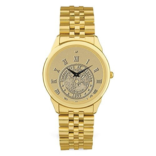 reloj adspec ncaa florida gators men's wristwatch, gold, one