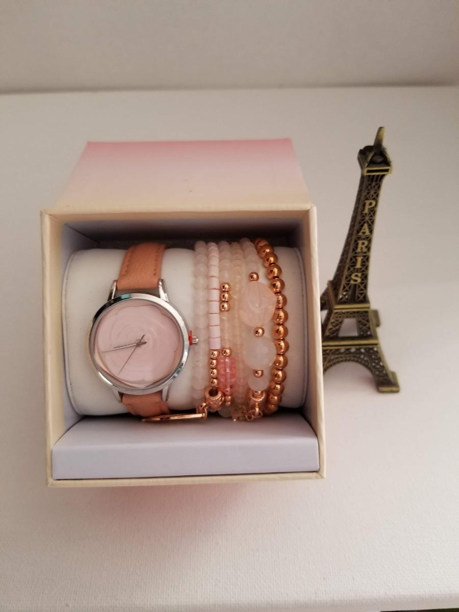 ef177c1d0c43 reloj aeropostale dama con pulseras color rosa envio gratis. Cargando zoom.