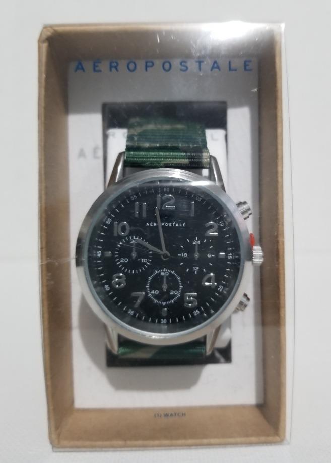 e8e37681f94c reloj aeropostale hombre extensibles color verde original. Cargando zoom.