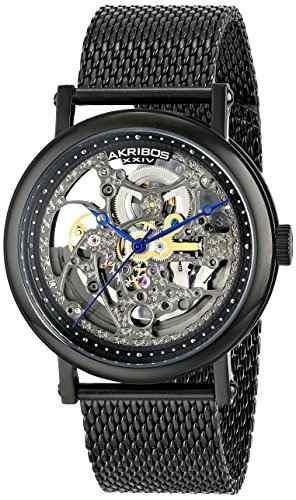 reloj akribos ak732bk negro