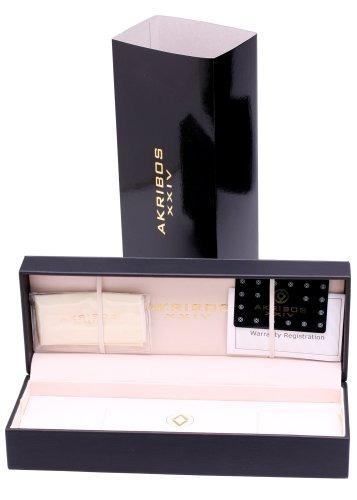 reloj akribos xxiv akr460or ultimate collection swiss quartz