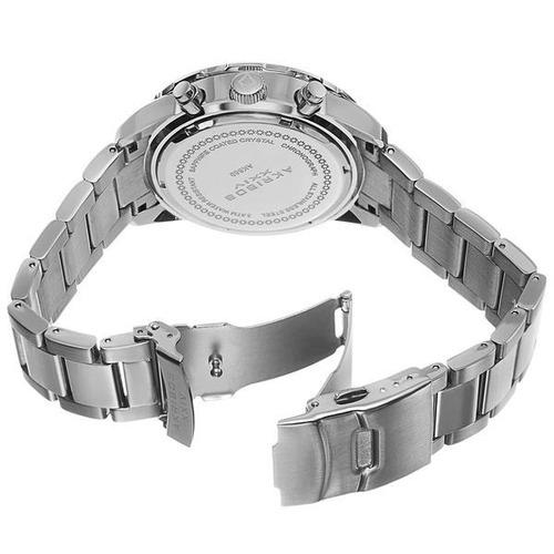 reloj akribos xxiv para hombre ak669rd pulso en acero