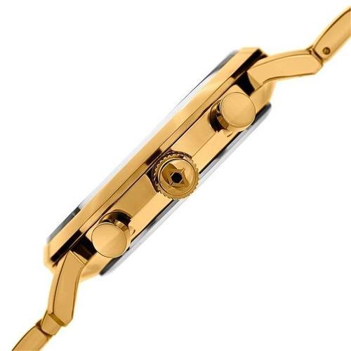 reloj akribos xxiv para hombre ak782ygbu pulso en acero