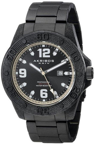 reloj akribos xxiv para hombre ak797tn  pulso en acero