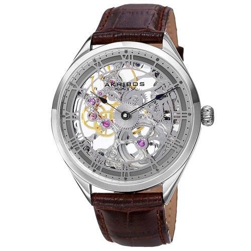 reloj akribos xxiv para hombre akr802gy pulso en cuero