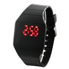 reloj alarma con sensor despertador digital  de mesa