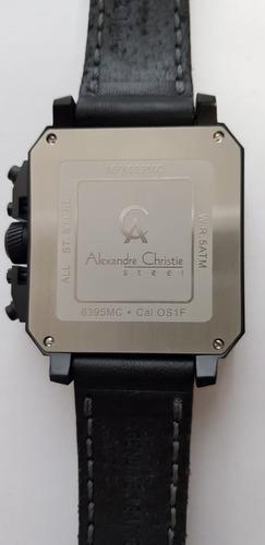 reloj alexandre christie cuadrado