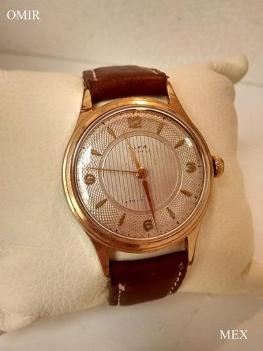 reloj alfa vintage suizo cuerda chapa oro